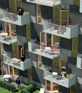 Billedet er fra Sjælsø Gruppens PDF folder over bebyggelsen